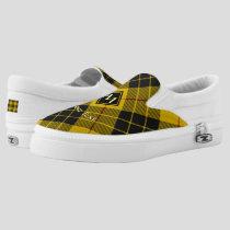 Clan Macleod of Lewis Tartan Slip-On Sneakers
