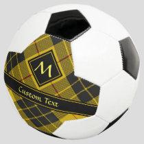 Clan Macleod of Lewis Tartan Soccer Ball