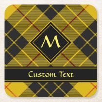 Clan Macleod of Lewis Tartan Square Paper Coaster