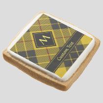 Clan Macleod of Lewis Tartan Square Shortbread Cookie