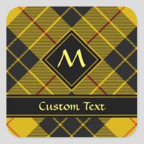 Clan Macleod of Lewis Tartan Square Sticker