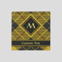 Clan Macleod of Lewis Tartan Stone Magnet
