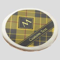Clan Macleod of Lewis Tartan Sugar Cookie
