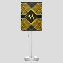 Clan Macleod of Lewis Tartan Table Lamp