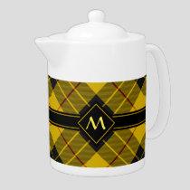 Clan Macleod of Lewis Tartan Teapot