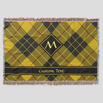 Clan Macleod of Lewis Tartan Throw Blanket