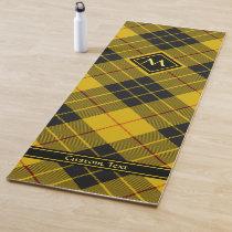 Clan Macleod of Lewis Tartan Yoga Mat