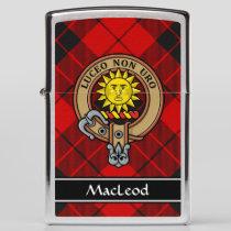 Clan MacLeod of Raasay Crest Zippo Lighter