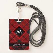 Clan Macleod of Raasay Tartan Badge