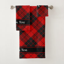 Clan Macleod of Raasay Tartan Bath Towel Set