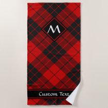 Clan Macleod of Raasay Tartan Beach Towel