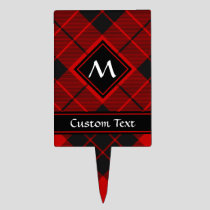 Clan Macleod of Raasay Tartan Cake Topper