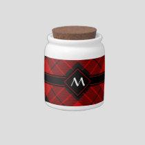Clan Macleod of Raasay Tartan Candy Jar