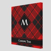 Clan Macleod of Raasay Tartan Canvas Print