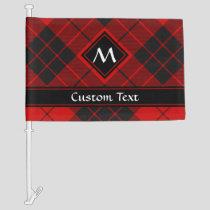 Clan Macleod of Raasay Tartan Car Flag