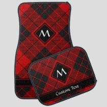 Clan Macleod of Raasay Tartan Car Floor Mat