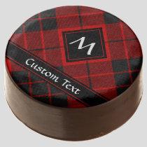 Clan Macleod of Raasay Tartan Chocolate Covered Oreo