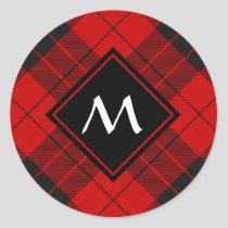 Clan Macleod of Raasay Tartan Classic Round Sticker