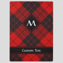 Clan Macleod of Raasay Tartan Clipboard