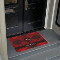 Clan Macleod of Raasay Tartan Doormat