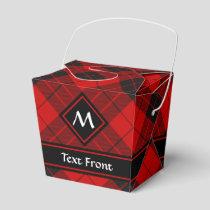 Clan Macleod of Raasay Tartan Favor Box