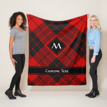 Clan Macleod of Raasay Tartan Fleece Blanket