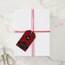 Clan Macleod of Raasay Tartan Gift Tags