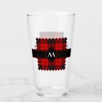 Clan Macleod of Raasay Tartan Glass