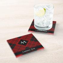 Clan Macleod of Raasay Tartan Glass Coaster