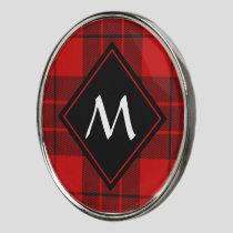 Clan Macleod of Raasay Tartan Golf Ball Marker