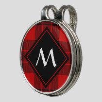 Clan Macleod of Raasay Tartan Golf Hat Clip