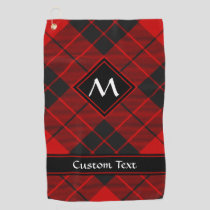 Clan Macleod of Raasay Tartan Golf Towel