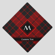 Clan Macleod of Raasay Tartan Graduation Cap Topper