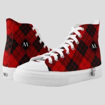 Clan Macleod of Raasay Tartan High-Top Sneakers