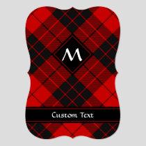 Clan Macleod of Raasay Tartan Invitation