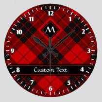 Clan Macleod of Raasay Tartan Large Clock