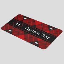 Clan Macleod of Raasay Tartan License Plate