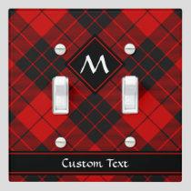 Clan Macleod of Raasay Tartan Light Switch Cover