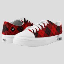 Clan Macleod of Raasay Tartan Low-Top Sneakers