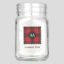 Clan Macleod of Raasay Tartan Mason Jar