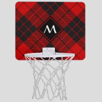 Clan Macleod of Raasay Tartan Mini Basketball Hoop