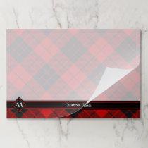 Clan Macleod of Raasay Tartan Paper Pad