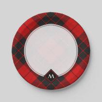 Clan Macleod of Raasay Tartan Paper Plate