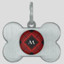Clan Macleod of Raasay Tartan Pet ID Tag
