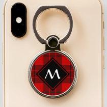 Clan Macleod of Raasay Tartan Phone Ring Stand