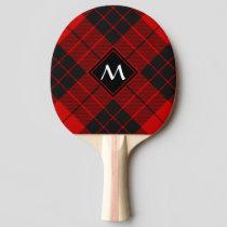 Clan Macleod of Raasay Tartan Ping Pong Paddle
