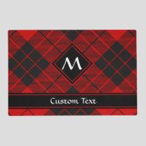 Clan Macleod of Raasay Tartan Placemat