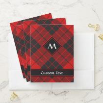 Clan Macleod of Raasay Tartan Pocket Folder