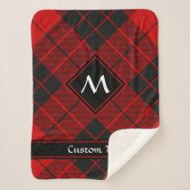 Clan Macleod of Raasay Tartan Sherpa Blanket