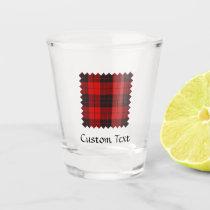 Clan Macleod of Raasay Tartan Shot Glass